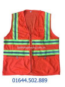 Áo 3M màu cam túi khóa